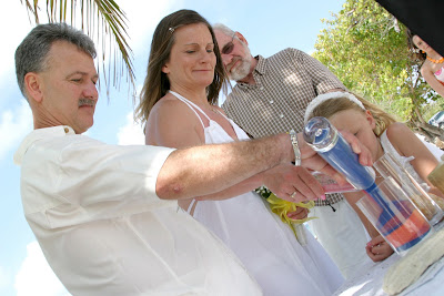 Weddings Sand Ceremony on Wedding Sand Ceremony In West Bay   Familli Wedding Idea   Wedding