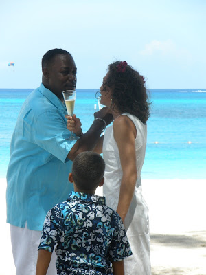 Cayman Wedding-Moon Rocks for Memphis Family - image 8