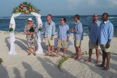 Bikini Bride at Grand Cayman Beach Wedding - image 3