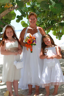 Grand Cayman Beach Wedding Was Fun For Kids Too - image 1