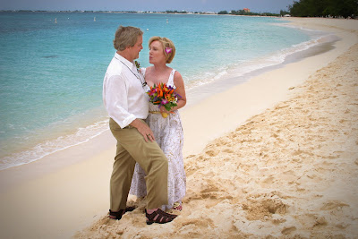Surrounded by the ones they love for their Cayman Beach Wedding - image 6