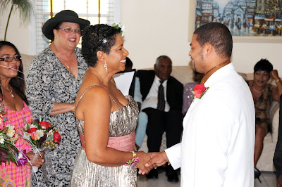 Starring in their own Cayman Wedding, Cayman Style - image 1