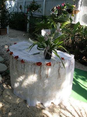 Traditional Caymanian Garden set off this Beautiful Wedding - image 5