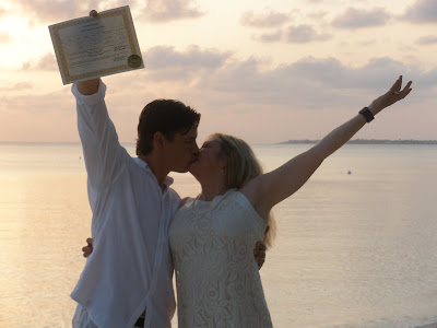 Louisiana Couple Marry in Romantic Sunset Grand Cayman Wedding - image 4