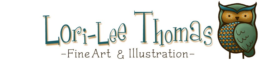 Lori-Lee Thomas - Fine Art &amp; Illustration Blog