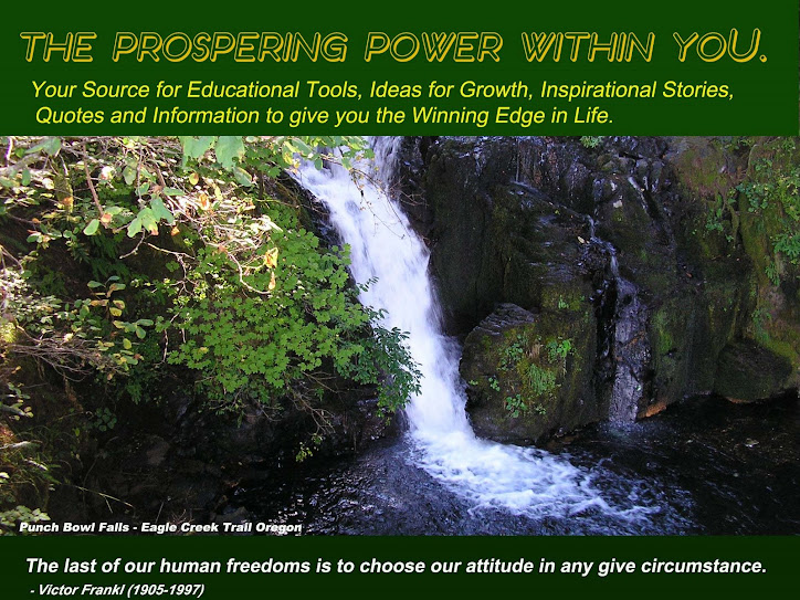 THE PROSPERING POWER WITHIN YOU.