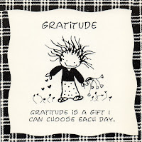image of sample showing gratitude is a gift