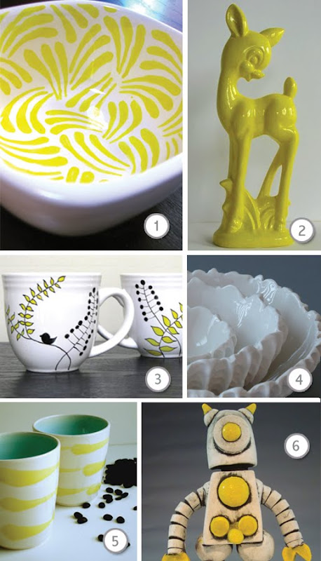 Lovely porcelain and ceramic creations on etsy