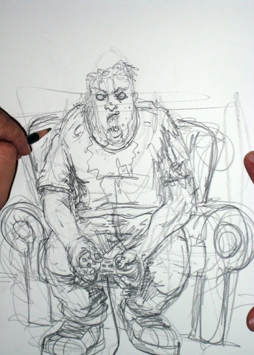 Juan Navarro Zombie Years Work in progress