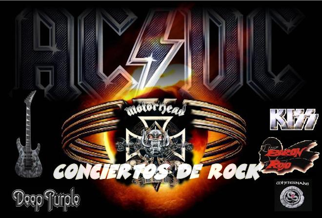 Conciertos de Rock