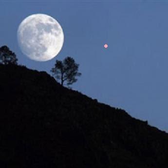 La otra luna llena y marte rojo for En q luna estamos hoy