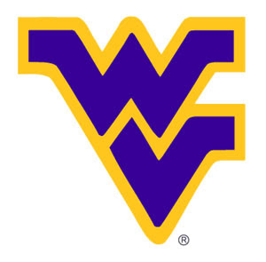 WV logo. West Virginia logo. Estado de West Virginia, EUA.