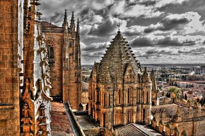 Torre Del Gallo de la Catedral Vieja de Salamanca Torre Del Gallo de la Catedral