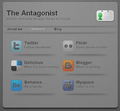 Antagonist business template