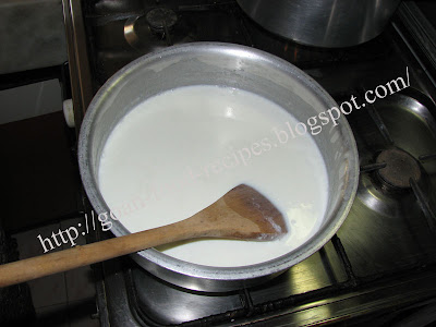 Boiling the Milk for Milk Cream