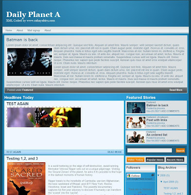 Daily Planet A