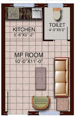 tmc 1 rk flat plan