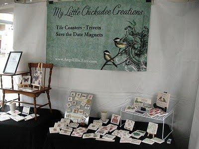 My First Outdoor Craft Fair Experience Display Ideas Https Www Handmadeology Com