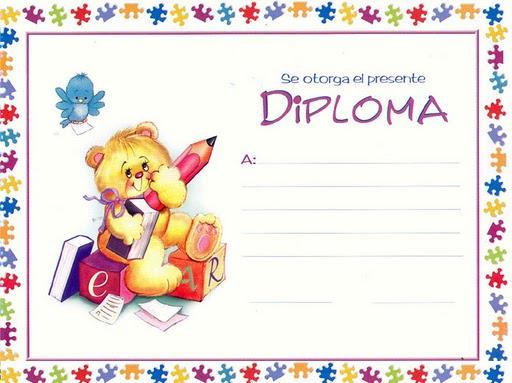 Diplomas Para Ni?os. DIPLOMA PARA NIÑOS PARA