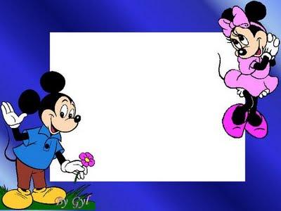 Gratis Papel De Carta De Mickey Mouse Y Minnie De Disney Para Imprimir
