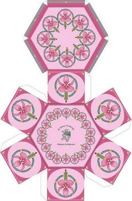 Descargar Joyero Para Recortar Y Armar Con Bonitos Dibujos De Flores