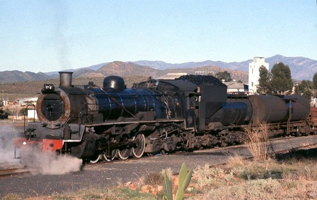 Touws River South Africa  city images : old STEAM LOCOMOTIVES in South Africa: Ladismith line: More historical ...