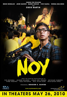 Coco Martin, noynoy aquino,  Star Cinema, Noy The Movie