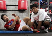 Pacquiao vs Cotto Sparring Partner