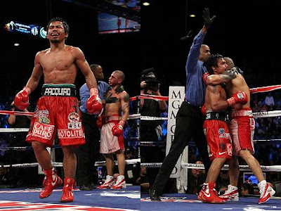 Pacquiao vs Cotto Photos