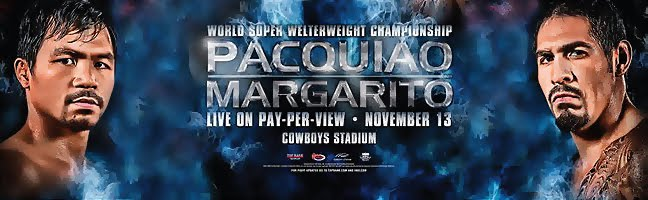 Pacquiao vs Margarito News and Updates, Online Streaming,  Coverage, Pacquiao Margarito 24