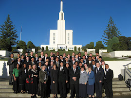 Visiting the New Zealand Temple.