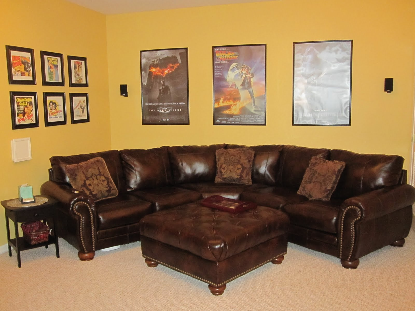 Media Room Couches | Interior Decorating Tips