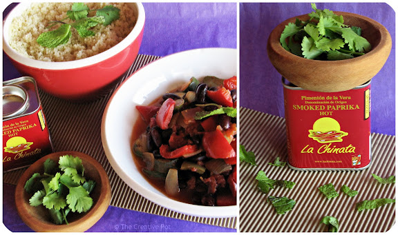 Photo of Red Pepper and Kidney Bean Tagine
