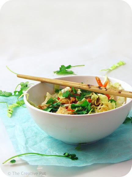 Grilled Miso Chicken Salad [photo]