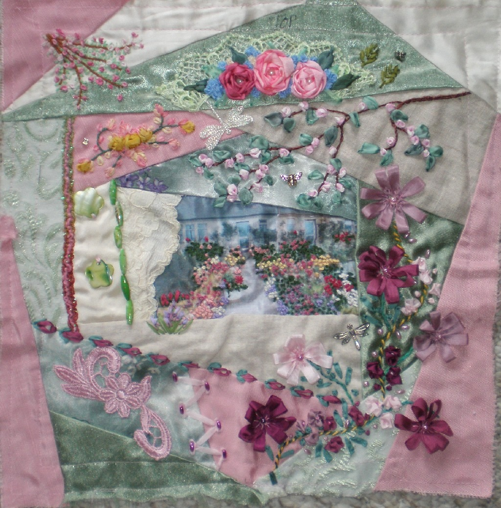 Diane s decorating diary my cqi silk ribbon embroidery rr
