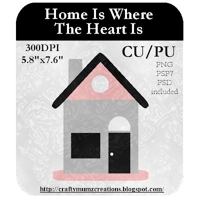 Home Is Where The Heart Is CU Template by Craftymumz Creations HomeIsWhereTheHeartIs_CUTemplate_RSW_prev