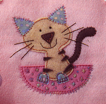 Applique Patch Embroidery Design