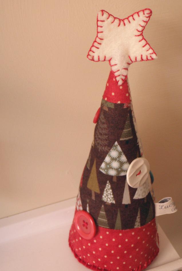 Елка текстильная своими руками