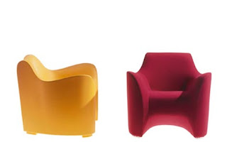 J'Adore Decour :  futuristic chairs driade modern furniture exposed brick