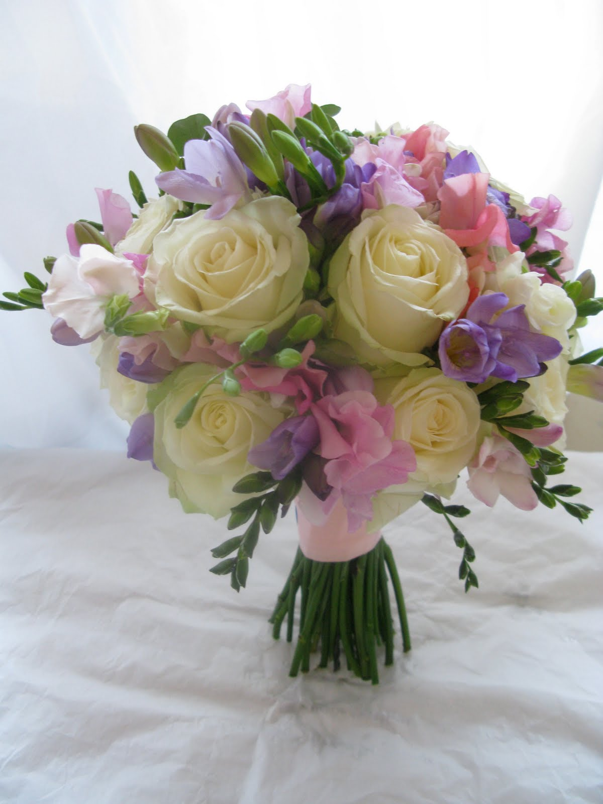 Sweet pea bouquets - wedding planning discussion forums
