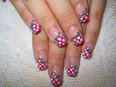 Nail art pictures nail art ideas little girls sweet sugar christmas nail art ideas prinsesfo Choice Image