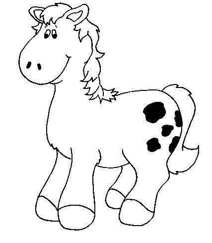 Dibujos de caballos animados - Imagui
