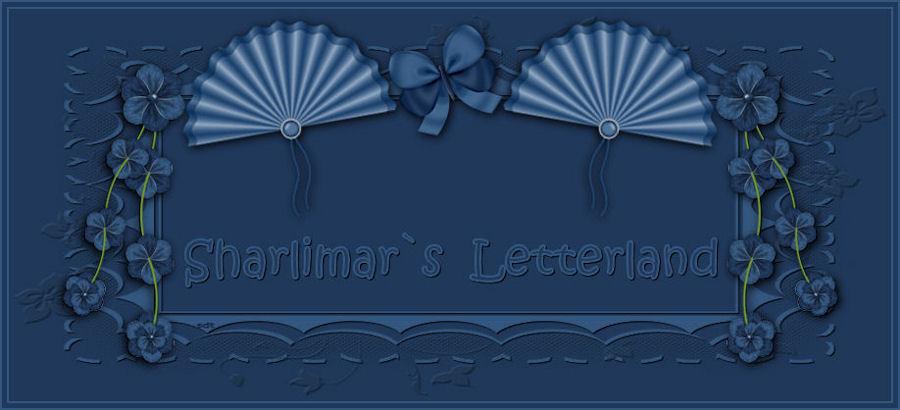 Sharlimar`s Letterland