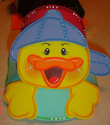 Gorras de pato de fomi - Imagui