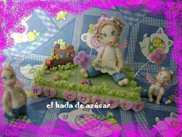 adorno torta nena