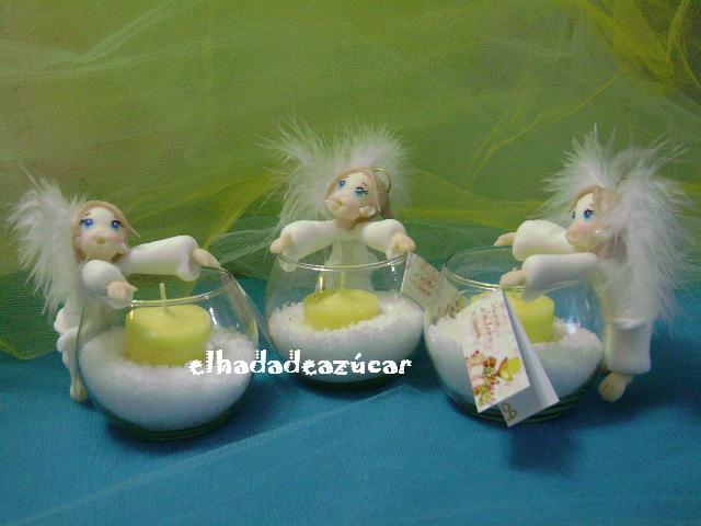 souvenirs porcelana fria, bautismo, comunion,cumpleaños,1°añito ...