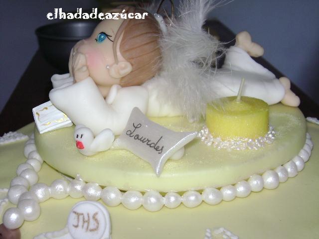 adorno torta comuni�n