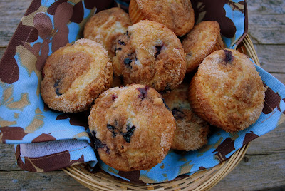 The Cutting Edge of Ordinary: To Die for Blueberry Muffins