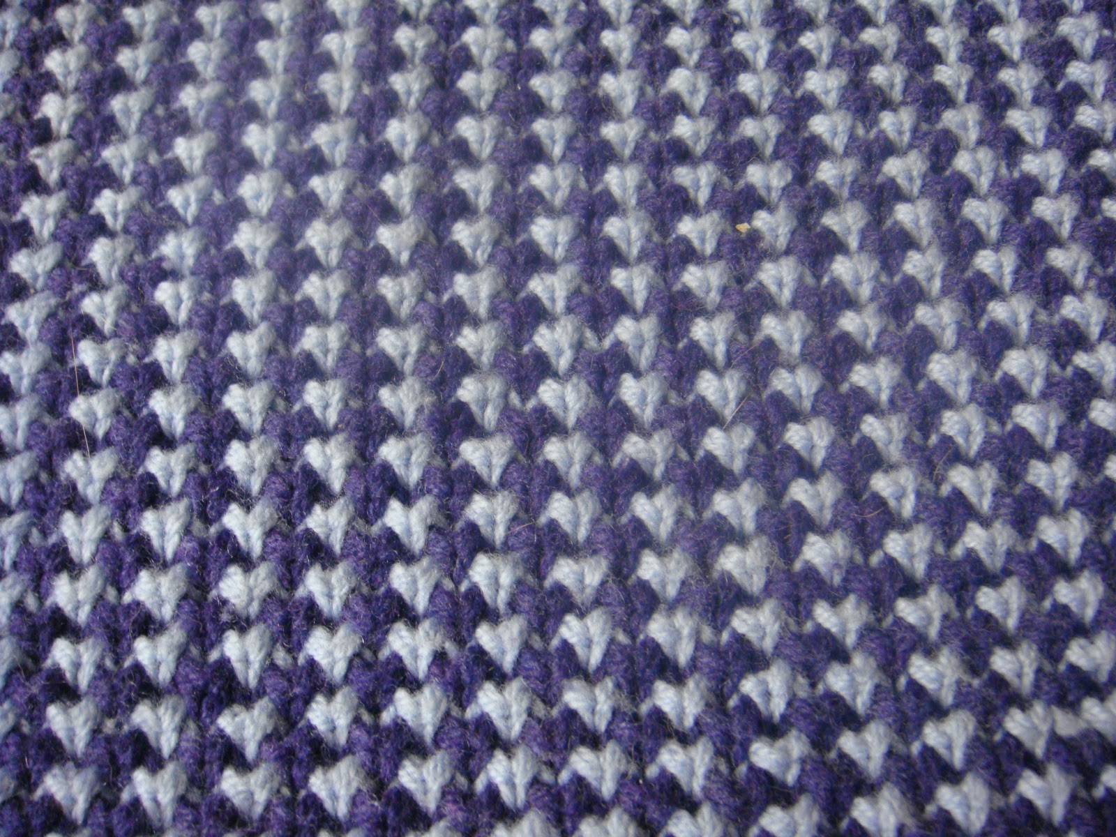Knit Stitch One Row Below : tatknitcat: Knitting: Herringbone stitch