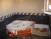 Bañera Hidro y plato ducha de obra